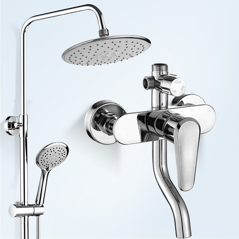Full Copper Electroplate More Function Three Archives Come Splash Sprinkle Suit Toilet Shower Room Lift Pressure Boost Shower