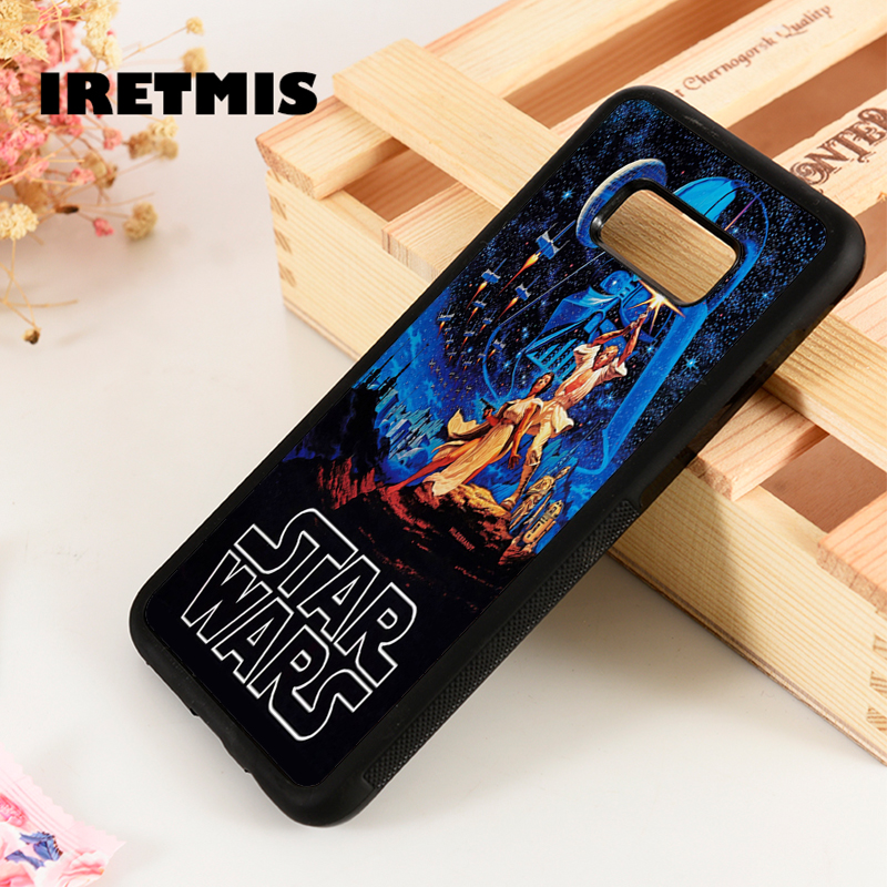 Iretmis S3 S4 S5 Silicone phone case cover for Samsung Galaxy S6 S7 S8 S9 edge plus Note 3 4 5 8 9 Star Wars Film Vintage Poster image