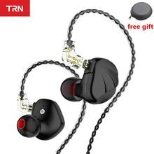 New TRN VX  6BA 1DD Hybrid Unit Headset HIFI Metal Monitor Sport Earphone In Ear Earphone IEM Earplug Headset TRN V90 ZSX BA5 X6