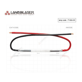 цена на made in UK lamp : 7*50*115F -wire , IPL xenon lamp , Lamp code : F1404 , IPL Lamp for leslaser , keslaser handpiece
