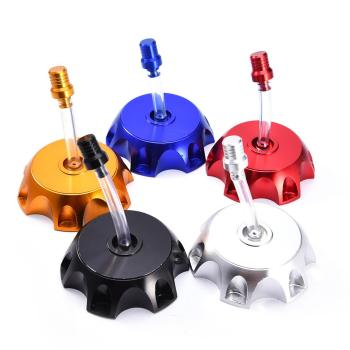 New Type Motorcycle Gas Fuel Petrol Tank Cap Replacement Lid For 90 110 125CC Dirt Bike Pit Pro ATV Quad - discount item  14% OFF Auto Replacement Parts