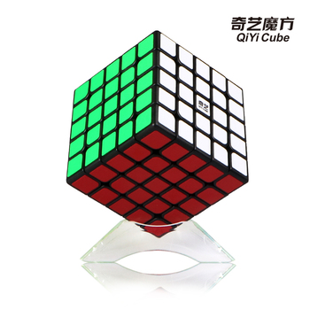 Qizheng Neo Cube 5x5x5 Cubo Magico Qiyi Magic 5x5 Stickerless Professional Puzzle Speed Anti-stress Toys For Children