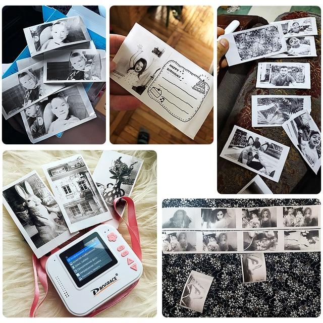 Детский фотоаппарат с печатью Prograce