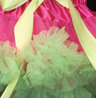 Юбка-пачка Одежда для маленьких девочек; нарядная одежда; юбка-пачка балетная юбка, пачка летняя одежда аксессуары для фотографирования новорожденных, ярко-розовым шифоном - Цвет: light green ruffled