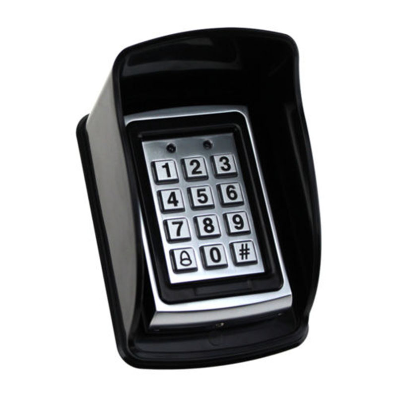 1pc Plastic Wall Mounted Rain Cover Access Controller Case Access Control Keypad Rainproof Shell Protect   - title=