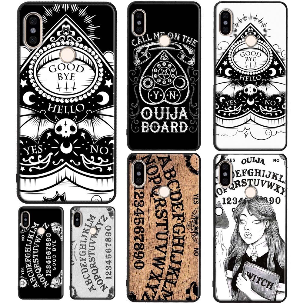 Girly Pastel Witch Goth Ouija Case For <font><b>Xiaomi</b></font> Redmi Note 9 7 8 <font><b>Pro</b></font> K30 8T 9S 7A 8A <font><b>Mi</b></font> 10 9T <font><b>Pro</b></font> 9 A3 Note10 Mix3 <font><b>Max3</b></font> image