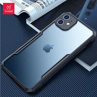 Per iPhone 12 13 pro max case,XUNDD Airbag Bumper custodia antiurto Cover posteriore Shell trasparente per iPhone12 13 Pro Max custodie