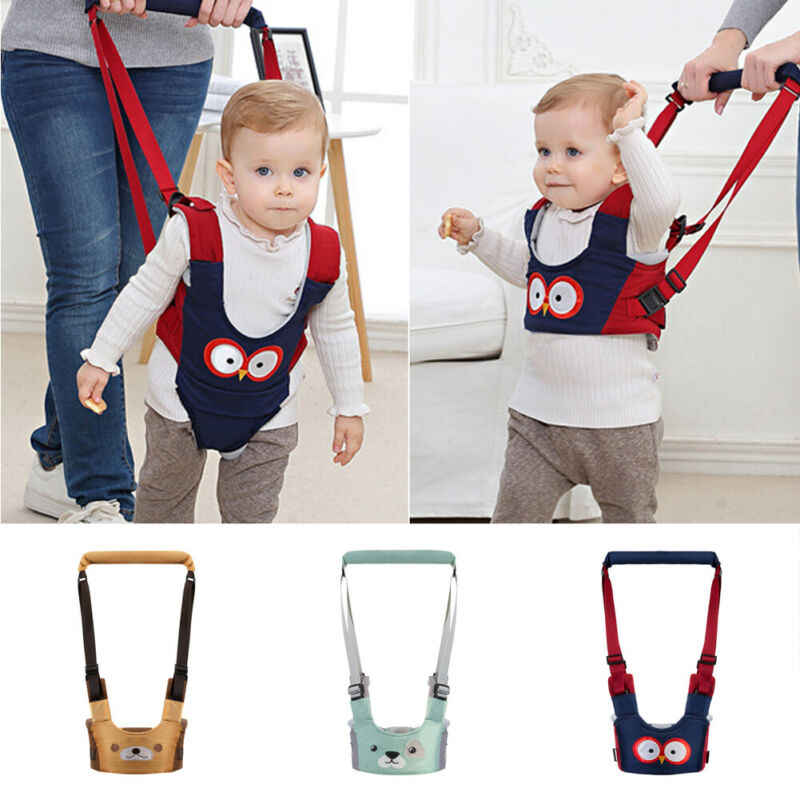 Baby Toddler Harness Safety Reins Kids Child Learning Walk Assistant Walking UK