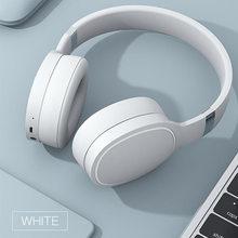 Bluetooth 5.0 fones de ouvido estéreo alta fidelidade sem fio fone com microfone moda colorido handfree jogo para pc telefone inteligente