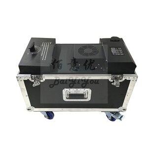 Image 3 - 1 шт., новая маленькая машина для водяного тумана мощностью 1500 Вт, DMX, с дистанционным управлением, Дымчатая тумана, низко Лежащая, противотуманная машина для украшения рождества, праздника, сцены