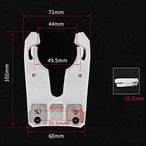 Image 5 - 5 יח\חבילה ISO30 כלי מחזיק מהדק ברזל + ABS להבת הוכחת גומי טופר