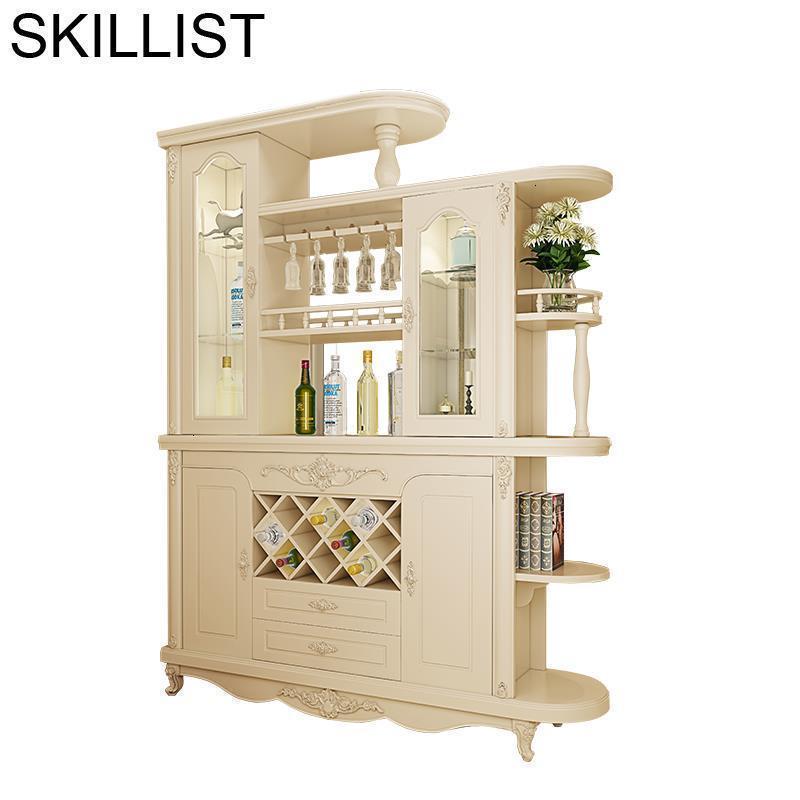 Meube Meja Salon Vetrinetta Da Esposizione Hotel Storage Sala Adega Vinho Mueble Shelf Commercial Bar Furniture Wine Cabinet