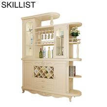 Meube Meja Salon Vetrinetta Da Esposizione Hotel Storage Sala Adega vinho Mueble Shelf Commercial Bar Furniture wine Cabinet