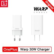 Oneplus 7t pro warp carregador 5v 6a original warp carregamento rápido carregador da ue para um mais 8 8pro 8t 7pro 7 6t 6 oneplus cabo de urdidura