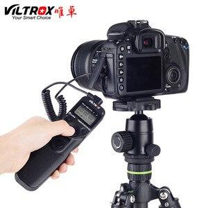 Image 4 - Viltrox JY 710 Camera Draadloze Timer Afstandsbediening Ontspanknop Voor Canon 5 Diii 6D2 Nikon D810 Panasonic GH5 G10 Sony a9 A7M