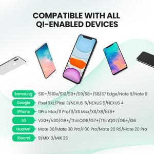 Image 4 - Bezprzewodowa ładowarka UGREEN Qi stojak na iPhone 11 Pro X XS 8 XR Samsung S9 S10 S8 S10E ładowarka do telefonu szybka bezprzewodowa stacja ładująca