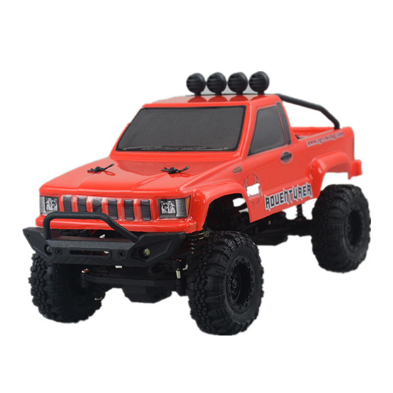 Rgt Ruitai 1/24 Mini Simulation To Climb Off road Vehicle Skin Truck Rtr Adult Alloy Vehicle Model - 5