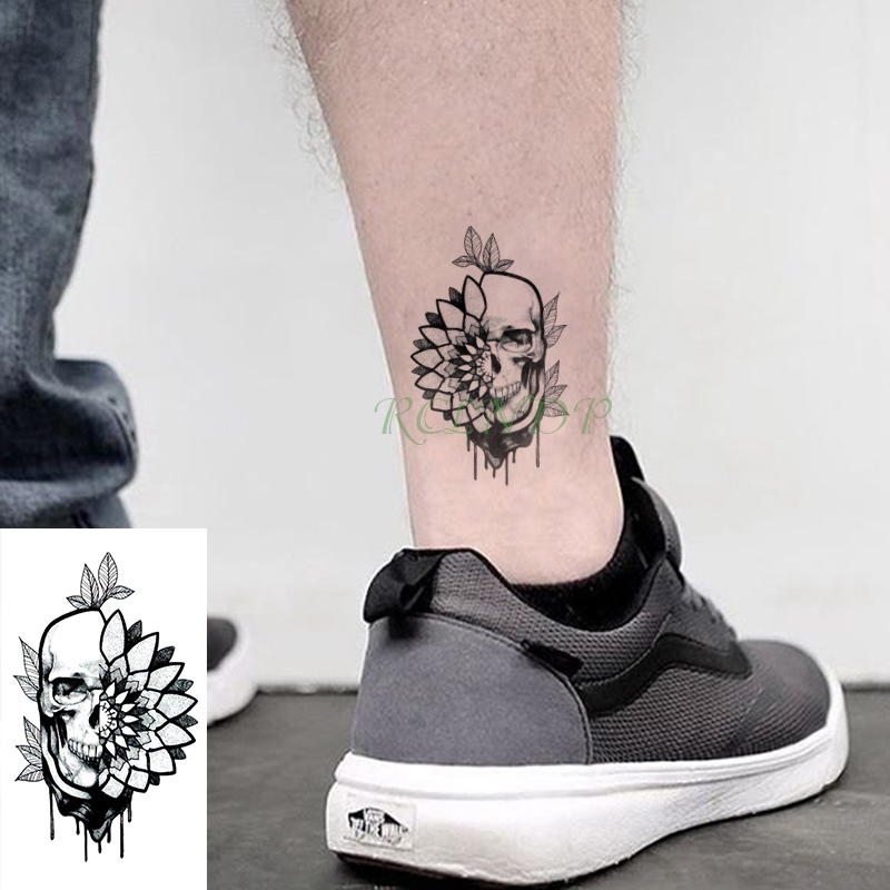 Waterproof Temporary Tattoo Sticker Tatoo Suicide Squad Harley Quinn Joker Tatto Body Flash Fake Tatoos for Kids Girl Women Men 5