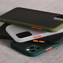 Противоударный прозрачный Гибридный Силиконовый чехол для телефона iPhone 11 Pro Max X Xr Xs Max 8 7 Plus 11 Фирменная прозрачная мягкая задняя крышка