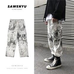 Privathinker Осень Хип-хоп дизайн черные брюки карго 2019 яркое модное Брендовое свободные Джоггеры мужские уличные брюки с карманами