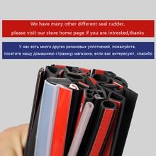 Burlete tipo P/B/D, aislamiento acústico, sellos de goma antiarañazos para motor de maletero y puerta de coche