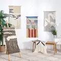Indian Macrame Geweven Muur Opknoping Boho Chic Bohemian Kamer Geometrische Tapestry Art Mooie Appartement Slaapzaal Decoratie