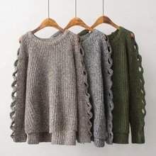 2019 Autumn Winter Women Sweaters Warm O-Neck Long Sleeve Sweater Fashion Hollow Slim Loose Simple Thick Wild Tops педали wellgo c172u х70248