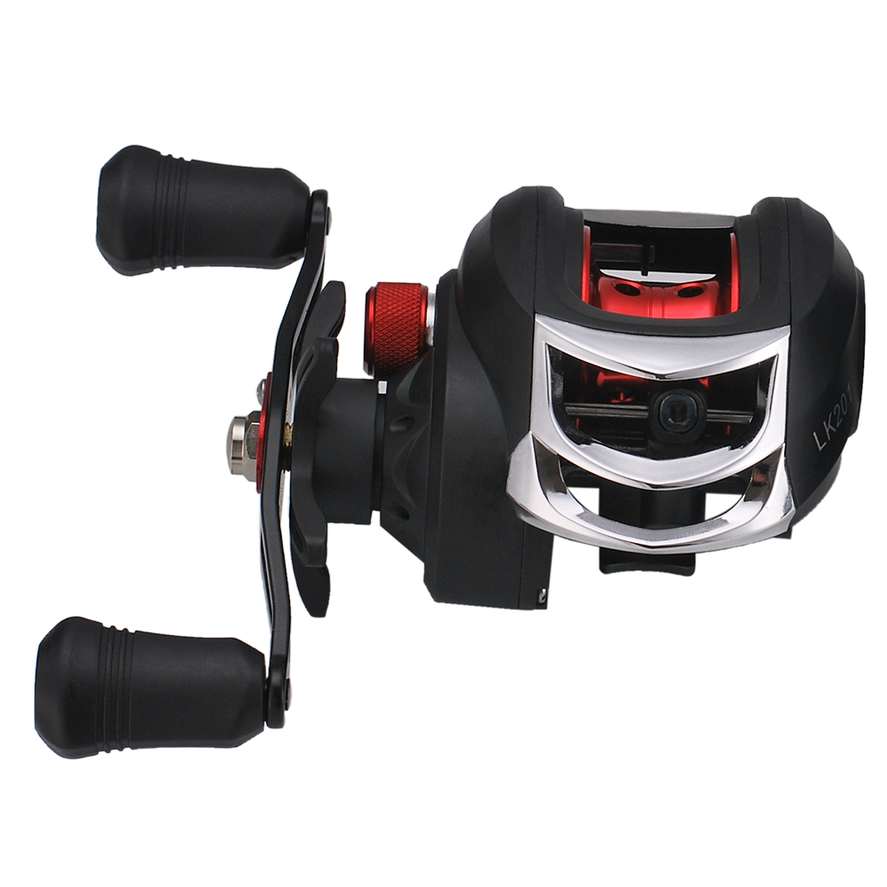Lightweight High Speed 7.1:1 Gear Ratio Baitcast Fishing Reel 17+1 Ball Bearings Baitcasting Fishing Reel Baitcaster Tackle