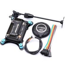 APM2.8 APM 2.8 controllore di volo Ardupilot + M8N GPS built in bussola + gps del basamento + shock absorber per RC Quadcopter Multicopter