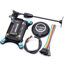 APM2.8 apm 2.8 フライトコントローラー ardupilot + M8N gps 内蔵コンパス + gps は + ショックアブソーバー rc quadcopter multicopter