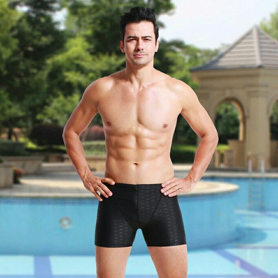 Fashion Large Size Swimming Trunks Men Shark Swimming Trunks Set Loose Comfortable Waterproof Bathing Suit Boxers Ht