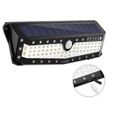 USB נטענת PIR Motion LED זרקורים תנועה שמש אור חיצוני מנורת קיר בית גן חצר שביל אבטחת רחוב אור