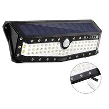 USB Ricaricabile PIR di Movimento Proiettori A LED di Movimento Della Luce Solare Lampada Da Parete per Esterni Casa Giardino Yard Passerella di Sicurezza della Luce di Via