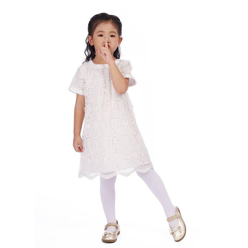 Белое кружевное платье для девочек, вечерние Детские платья для девочек, детское праздничное платье принцессы, детская повседневная одежда...