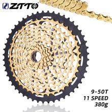 Кассета велосипедная ZTTO, 9-50 т, 11 скоростей, для горного велосипеда