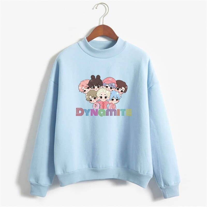 anime hoodie kpop winter couple clothes korean harajuku oversize crewneck sweatshirt  fall 2020 women clothing long sleeve tops 4