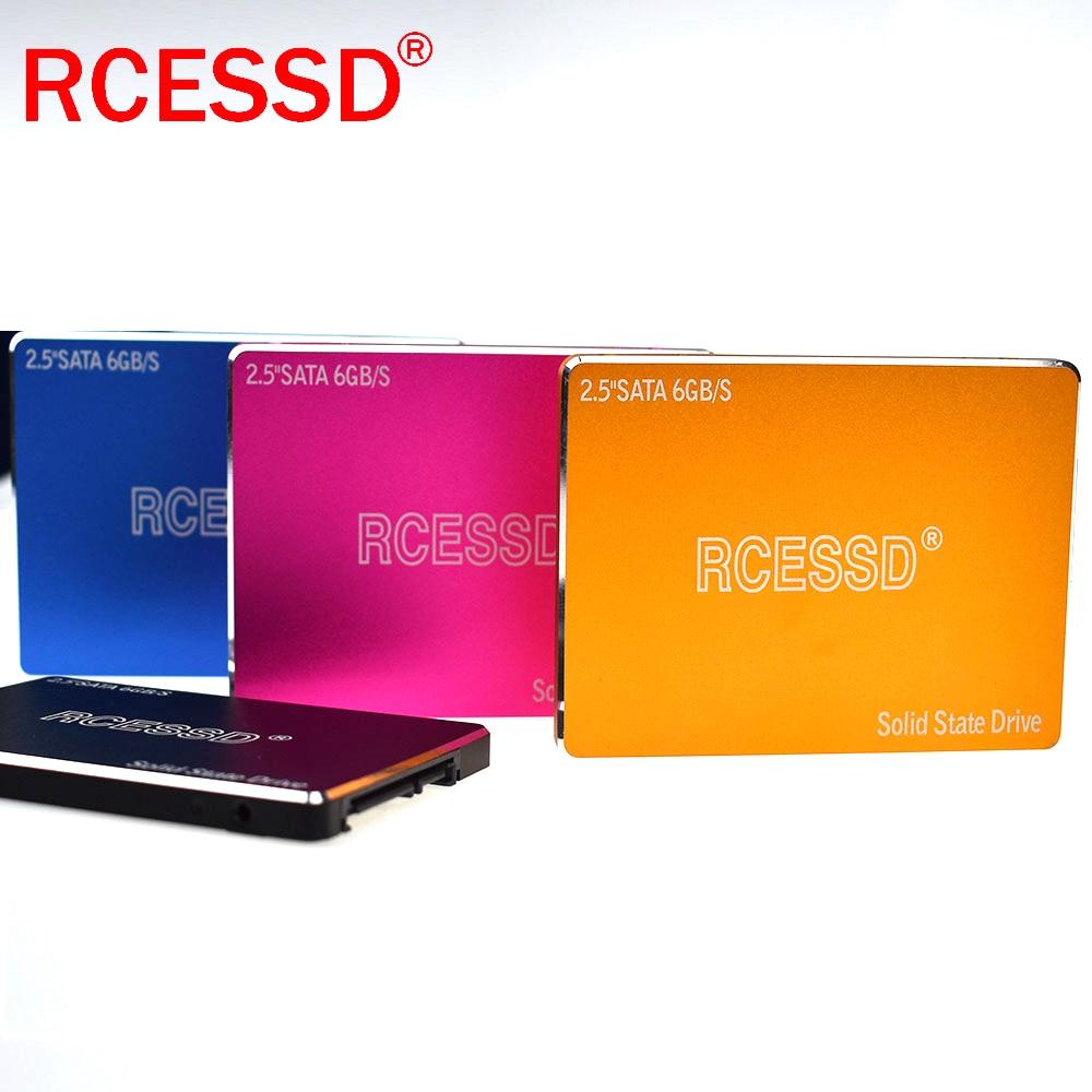 RCESSD Metal 256Gb 512Gb1TB SSD 2.5 Hard Drive Disk Disc Solid State Disks 2.5