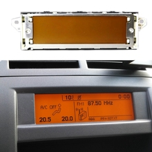 Screen Peugeot Air-Bluetooth-Display Citroen USB Car for 307/407/408 C4 C5 12-Pin Yellow-Monitor