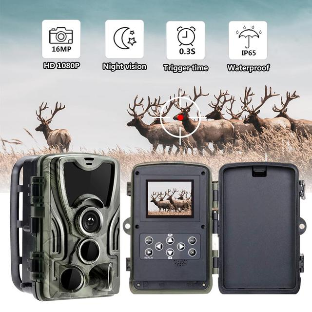 HC801B Hunting Trail Hunting Trap Camera Wild Game Night Animal Thermal Photo Waterproof With 20MP Image Trigger Wildlife Scouti 1