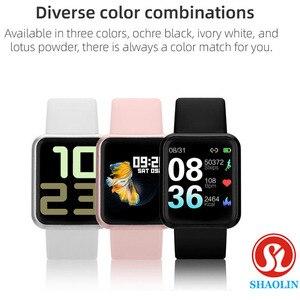 Image 5 - חכם שעון נשים גברים ספורט אופנה עמיד למים שעון פעילות גשש כושר קצב לב ברים Smartwatch עבור אפל שעון PK IWO
