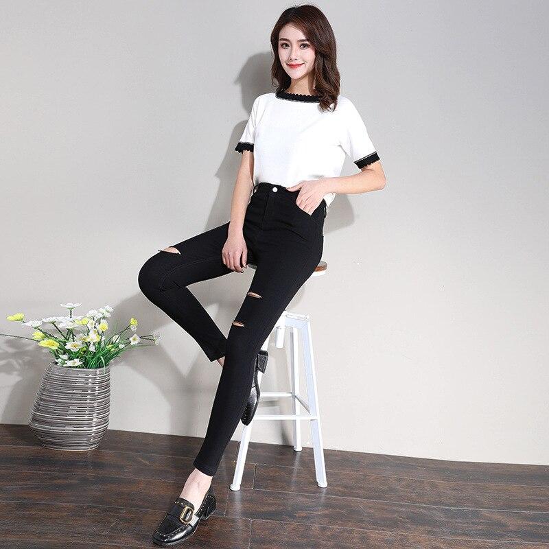 2019 New Style Korean-style Slimming Leggings Versatile Casual Pants Slim Fit Skinny Pants WOMEN'S Dress Pencil Pants WOMEN'S Pa