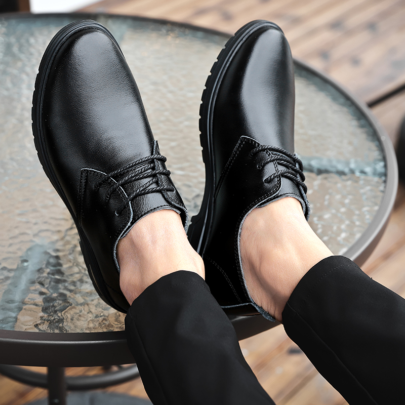 Brand Men Shoes Top Quality Oxfords British Style Men Genuine Leather Dress Shoes Business Formal Shoes Men Flats Size 48 %7055