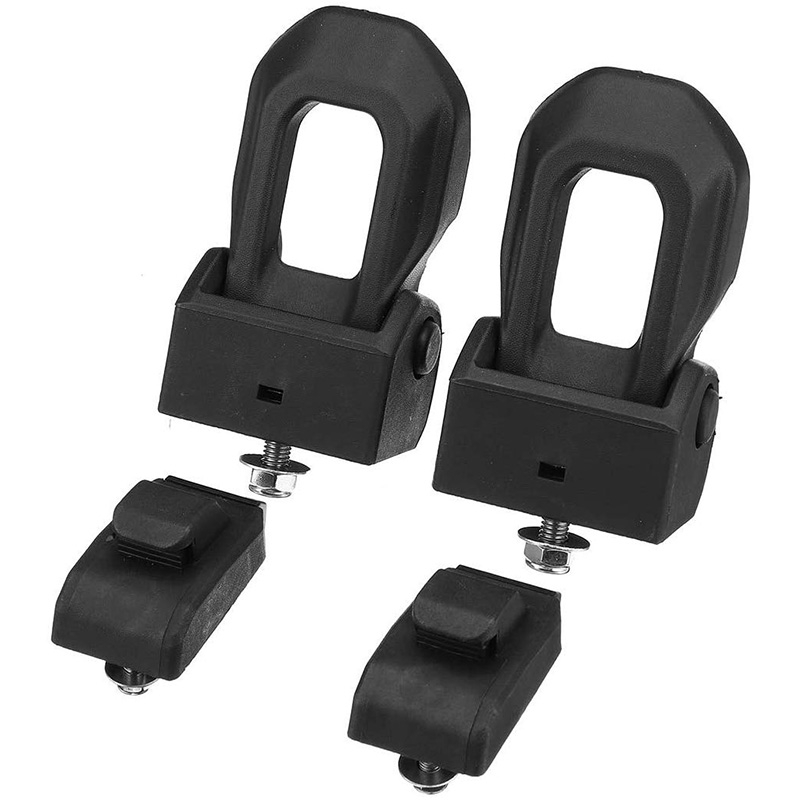 Cover Buckle Hinge Hood Lock Left And Right Hood Latch Kit 68240952AD 68240951AB For 18 Wrangler JL
