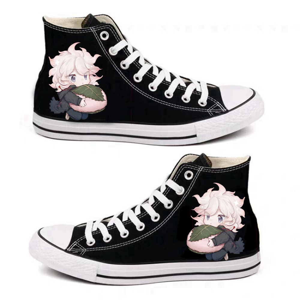 Anime Danganronpa Komaeda Nagito Cosplay Props Canvas Shoes Women Men Teens Sports Shoes Daily Casual Outdoor Travel Shoes