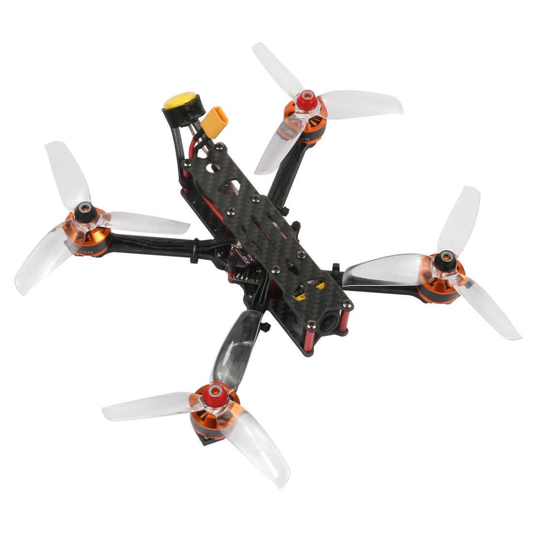 JMT F4 X1 175mm FPV yarış Drone ile PNP GHF411AIO F4 2-6S AIO uçuş kontrolörü 35A ESC ratel FPV kamera Supra-VTX Quadcopter