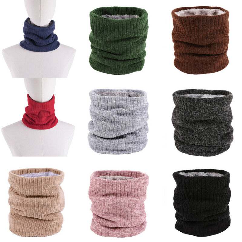 New Fashion Men Women Shawl Fleece Snood Scarf Neck Warmer Ski Beanie Hat Balaclava Scarf Winter Warm Accessories