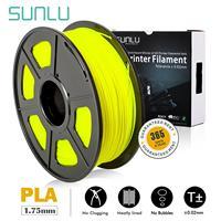 SUNLU 1 กก.1.75 มม.PLA filament สำหรับ 3D การพิมพ์ 0.02 มม.ความอดทนและไม่มี Bubble PLA วัสดุไม่เป็นอันตราย 3D พิมพ์-ใน วัสดุการพิมพ์ 3D จาก คอมพิวเตอร์และออฟฟิศ บน