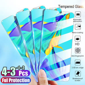 Full Cover Tempered Glass For Huawei P40 P30 Lite P20 Pro P Smart 2019 Screen Protector Protective Glass For Huawei Mate 30 20