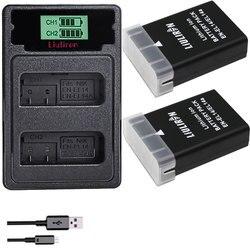 EN-EL14 EN EL14 EN EL14a EN-EL14a Bateria + LED Construído em Carregador USB para Nikon D3500 D5600 D3300 D5100 D5500 P7100 P7700 P7800