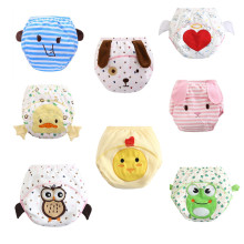 10pc/Lot Toddler Infant Baby Boys Girls Cartoon Diapers Nappy Training Pants Reusable